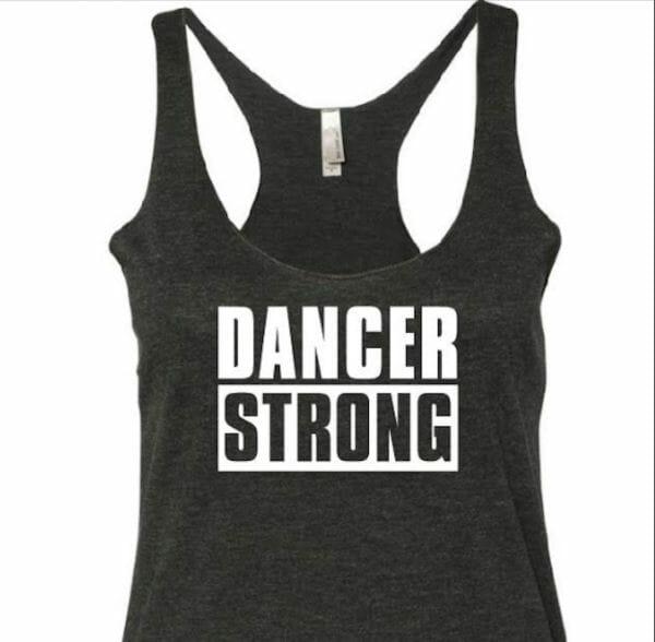 Dancer Strong Tank Top Womens